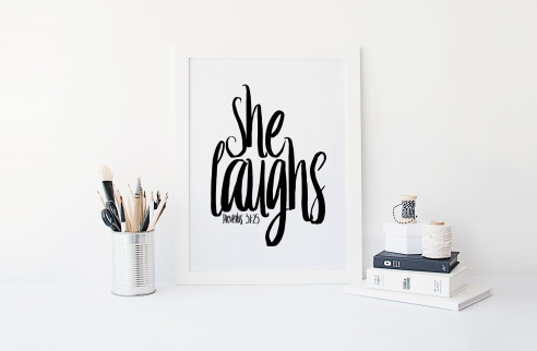 she laughs for blog