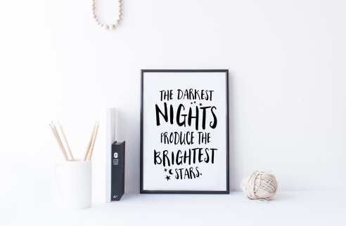 The darkest nights for blog